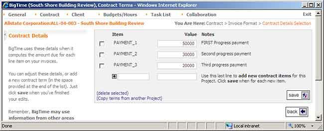 progress invoice template