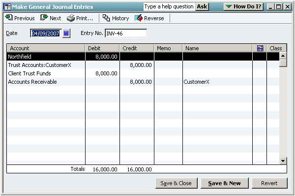 Trust Fund Invoicing BigTime IQ Enterprise User Manual - Quickbooks invoice accounts receivable