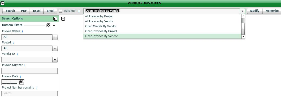 Free Sales Invoice Template Excel User Guideacctng Ap Procedures  Workamajig Online Help Guide Car Receipts Word with Sample Deposit Receipt  Vendor Invoices Apvoucherlisting What Is Mrv Receipt Number Pdf