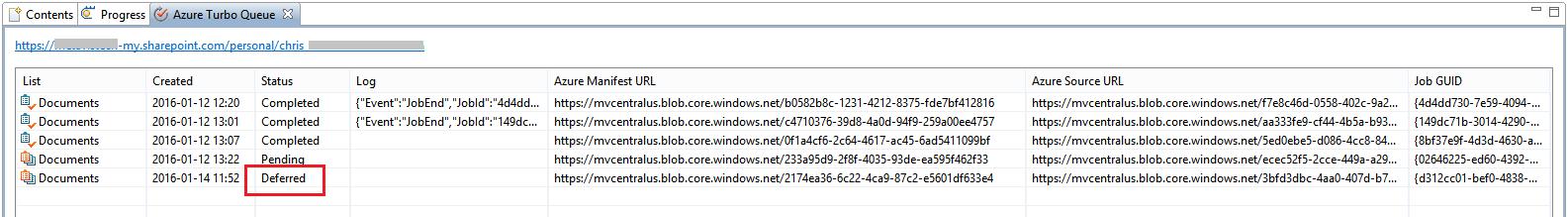 Defer Upload to Azure (Azure Turbo) - Metalogix Desktop User