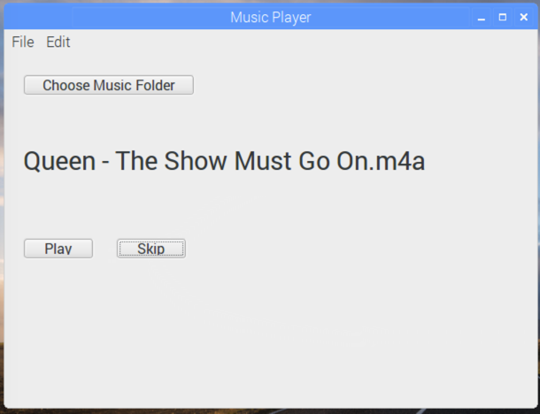 GUI Project - Music Player - Xojo Dev Center