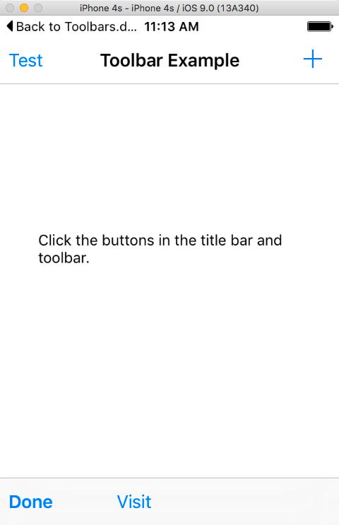 iOS Toolbars - Xojo Dev Center