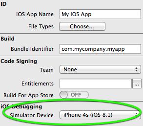 Using the iOS Simulator - Xojo Dev Center