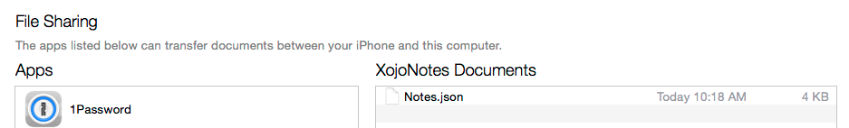 Copying Files to the iOS Device - Xojo Dev Center