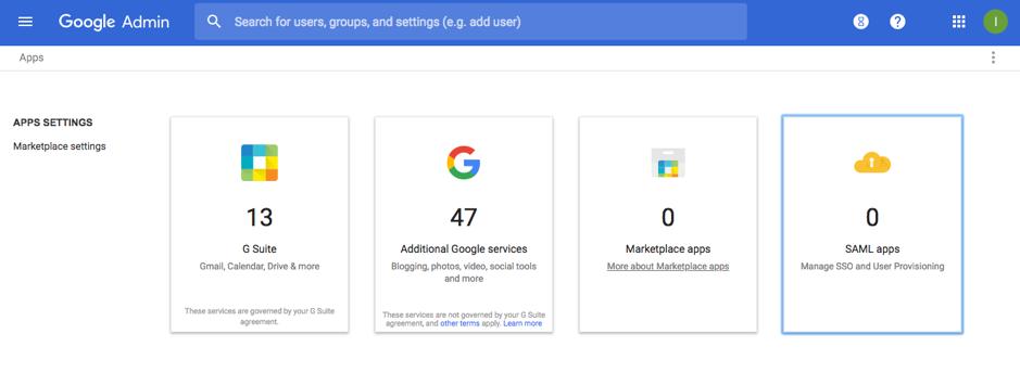 Google Suite IdP Configuration - erwin Help Centre
