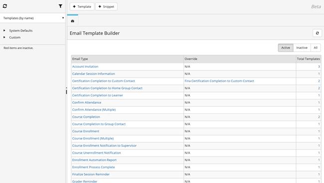 Email Template Builder Dashboard SmarterUcom - Email dashboard template