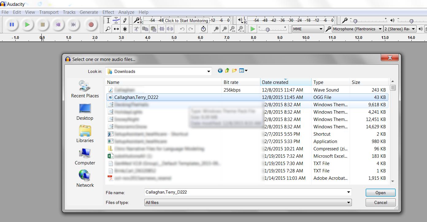 nVoq APIs: SoX and Audacity Audio File Conversion - nVoq