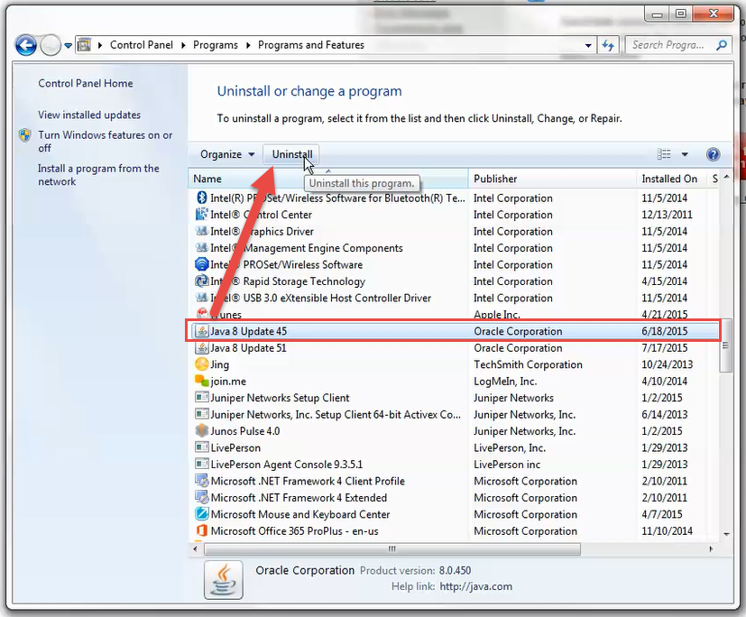 How To Completely Uninstall Java Windows 7 How to uninstall