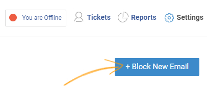 Select the +Block New Email button.