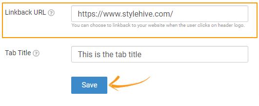 Saving Linkback URL