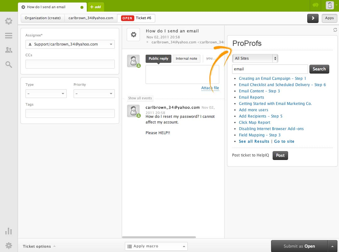 Zendesk Integration with ProProfs Knowledgebase - ProProfs ...