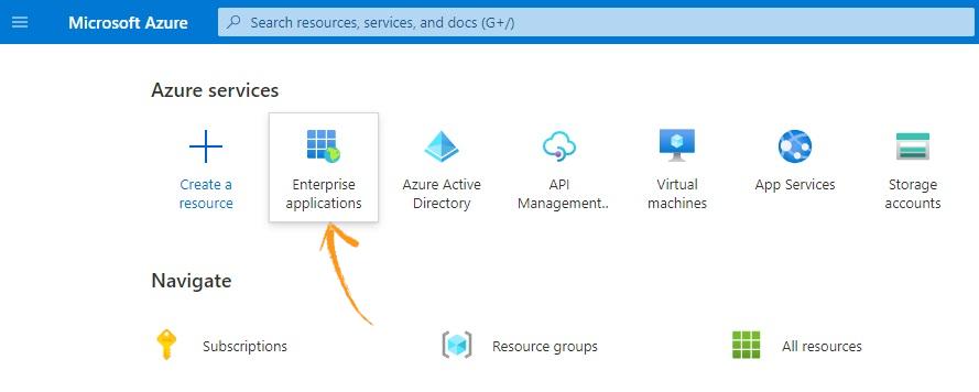 Azure AD services