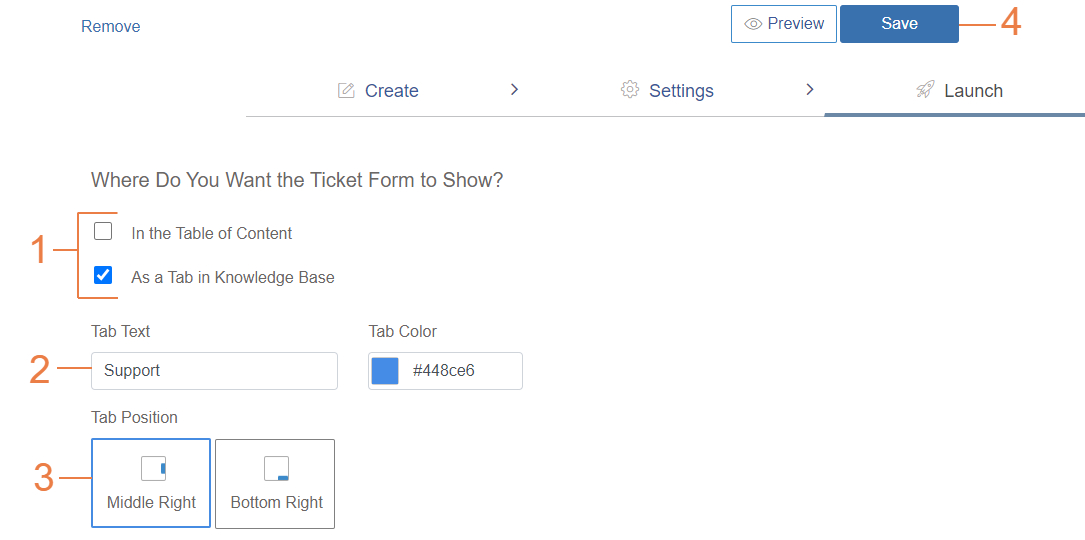 Add recipients for Custom Form