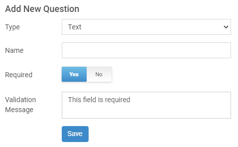 Add fields in the pre-chat forms