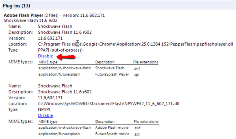 Get Shockwave Flash For Chrome