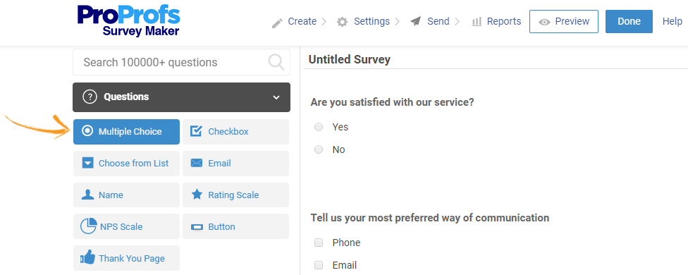 Edit online survey