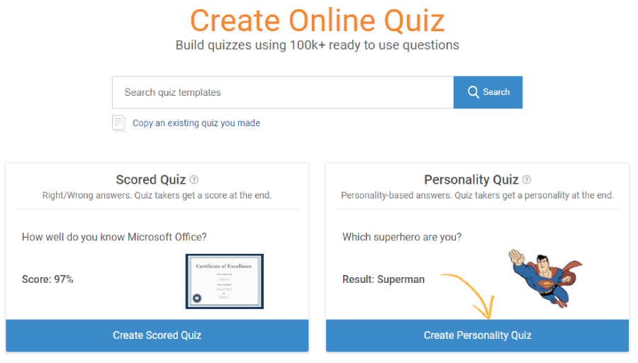 How to Create a Personality Quiz - ProProfs Quiz Maker FAQs