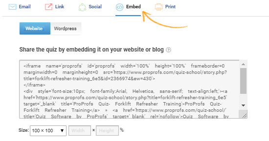 How to Embed a Quiz on Blogger - ProProfs Quiz Maker FAQs