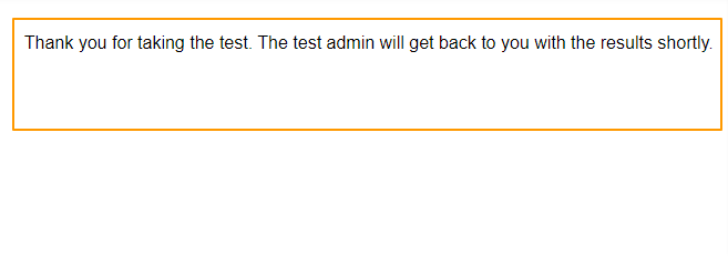 Quiz completion preview without result and certificate