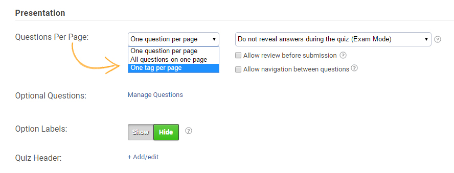 How to Use Tagging in Quizzes - ProProfs Quiz Maker FAQs