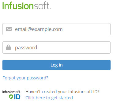 Login into your InfusionSoft Account