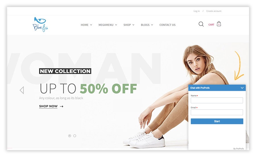 Shopify website would look after completing this integration