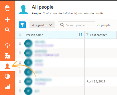 Now you can see contacts in your Nutshell Account