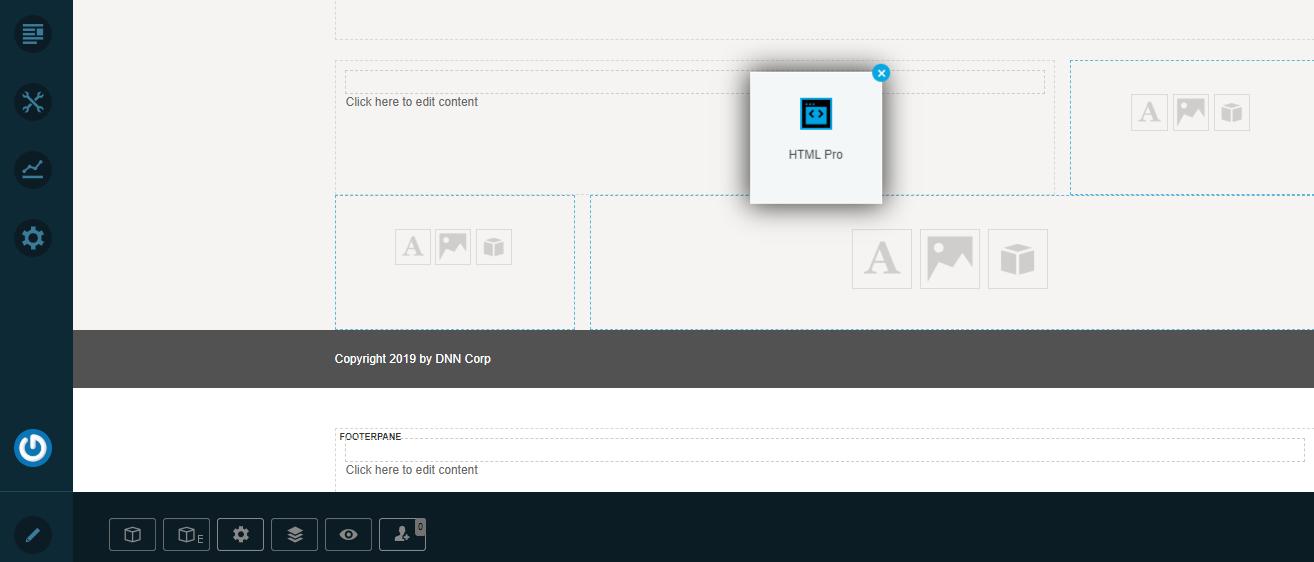 HTML Pro in Dotnetnuke