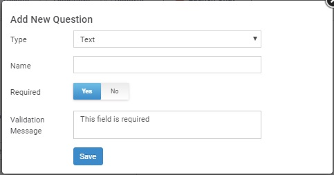 This option allows you to add additional custom fields
