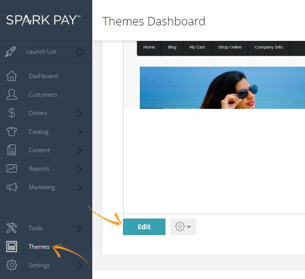 Spark Pay admin panel