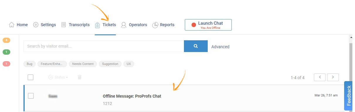 Add Tags to Live Chat Tickets