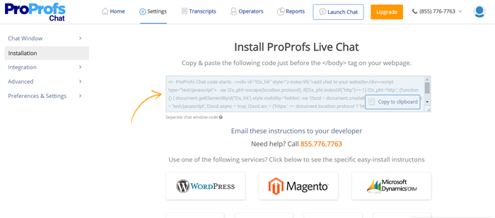 How to Integrate Shopify With ProProfs Chat - ProProfs Chat FAQs