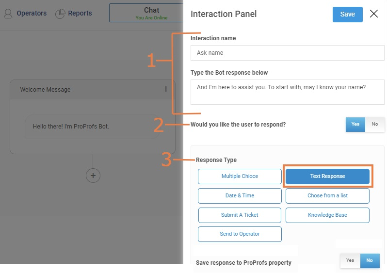 Add more messages to chatbot