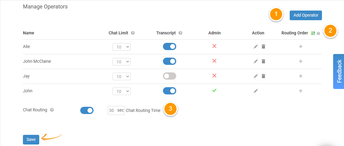 Chat Routing