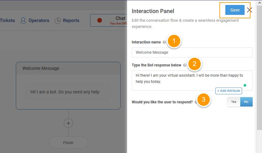 Interaction Panel