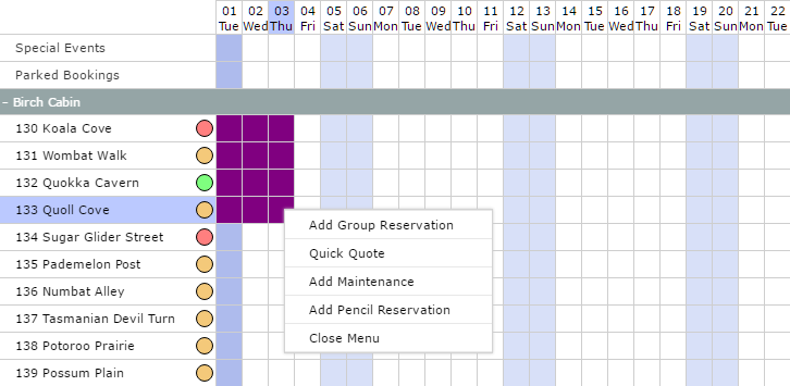 Creating Group Reservations - RMS Knowledge Base