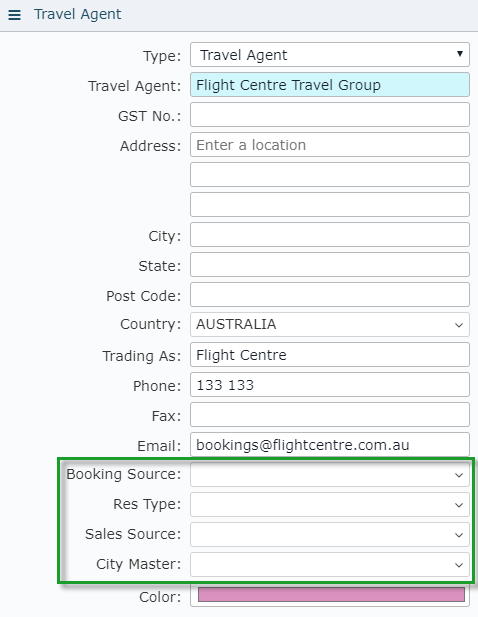 Travel Agent - RMS Knowledge Base