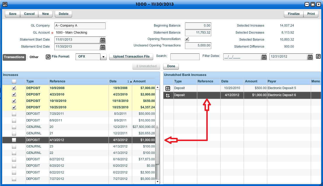 Upload Bank Transactions - Workamajig Online Help Guide