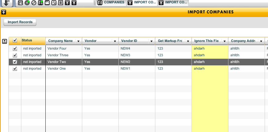 Import Overview - Setup Data and Records - Workamajig Online