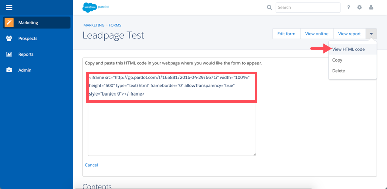 Integrate Pardot with Leadpages – Leadpages Knowledge Base