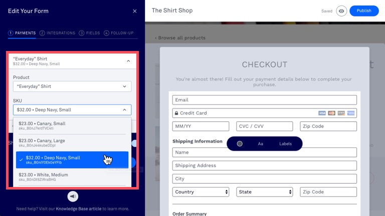 Checkouts overview – Leadpages Knowledge Base