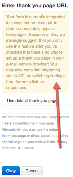 Little Known Questions About Leadpages Thank You Page.