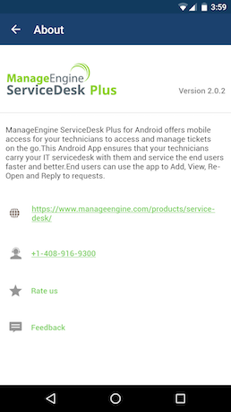 How to use ServiceDesk Plus Android App and it's features