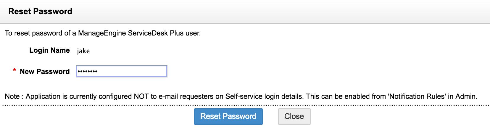 Configure requesters | Help desk customizer - SDP help desk