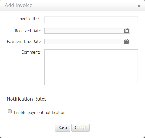 How To Add Invoice Payment Details To The Approved PO In SDP Cloud - Invoice details