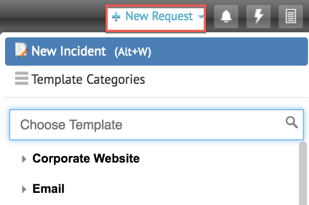 Incident management: Create a new incident in ServiceDesk Plus
